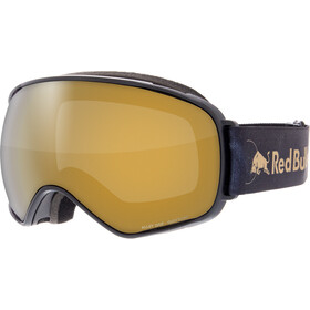 Red Bull SPECT Alley Oop Lunettes de protection, black-gold snow